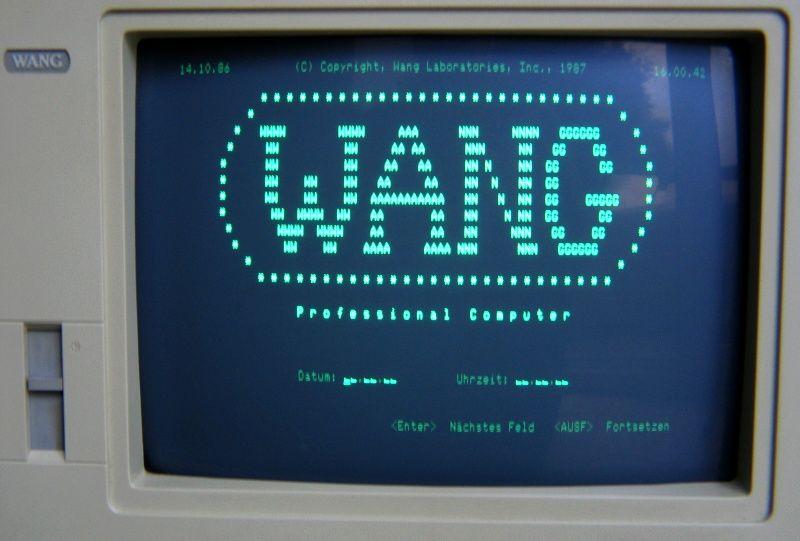 Wang Pc Professional Computer